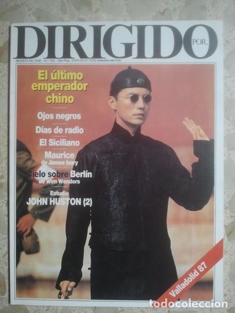 DIRIGIDO POR ... Nº 153 - REVISTA DE CINE - AÑOS 80 (Cine - Revistas - Dirigido por)