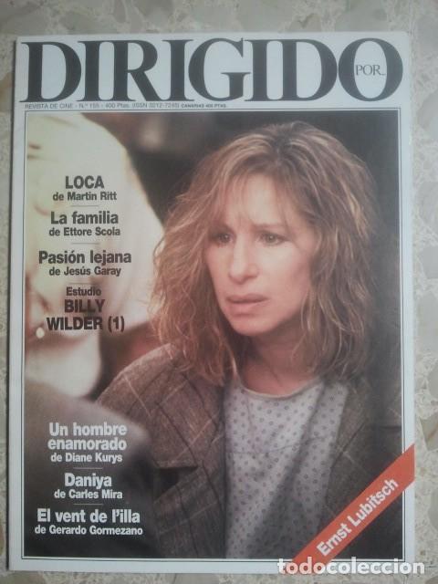 DIRIGIDO POR ... Nº 155 - REVISTA DE CINE - AÑOS 80 (Cine - Revistas - Dirigido por)