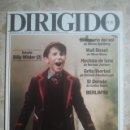 Cine: DIRIGIDO POR ... Nº 156 - REVISTA DE CINE - AÑOS 80. Lote 160270814