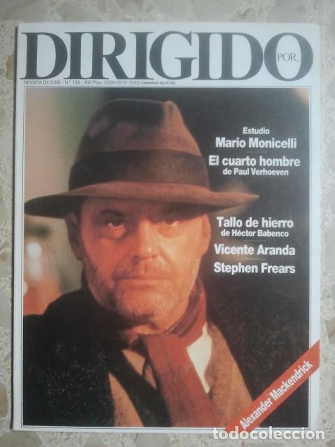 DIRIGIDO POR ... Nº 158 - REVISTA DE CINE - AÑOS 80 (Cine - Revistas - Dirigido por)