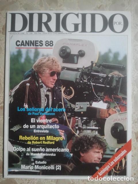 DIRIGIDO POR ... Nº 159 - REVISTA DE CINE - AÑOS 80 (Cine - Revistas - Dirigido por)