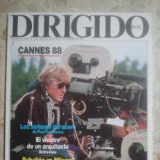 Cinema - DIRIGIDO POR ... Nº 159 - REVISTA DE CINE - AÑOS 80 - 160271074