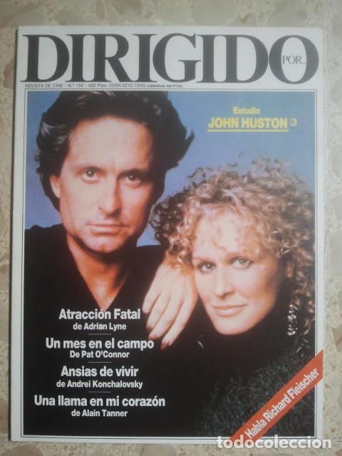 DIRIGIDO POR ... Nº 154 - REVISTA DE CINE - AÑOS 80 (Cine - Revistas - Dirigido por)