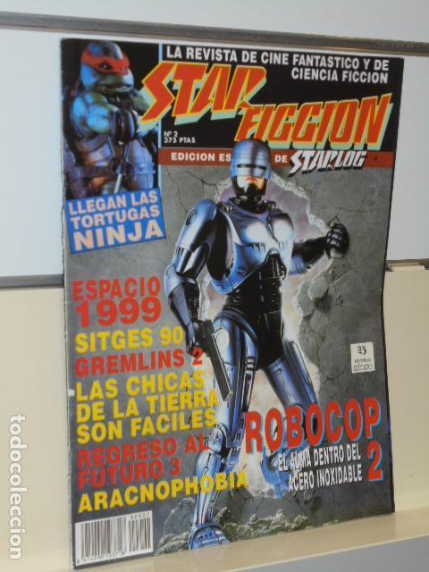 REVISTA DE CINE FANTASTICO Y CIENCIA FICCION STAR FICCION Nº 2 ROBOCOP Nº 2 (Cine - Revistas - Star Ficcion)