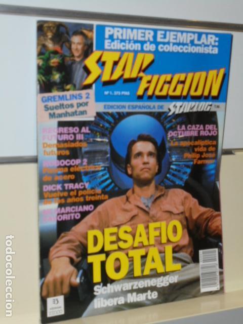 REVISTA DE CINE FANTASTICO Y CIENCIA FICCION STAR FICCION Nº1 DESAFIO TOTAL - ED. ESPAÑOLA STARLOG (Cine - Revistas - Star Ficcion)