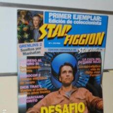 Cine: REVISTA DE CINE FANTASTICO Y CIENCIA FICCION STAR FICCION Nº1 DESAFIO TOTAL - ED. ESPAÑOLA STARLOG. Lote 160284374