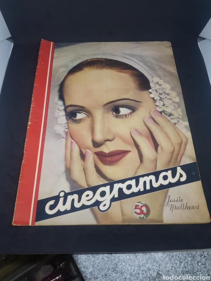 REVISTA DE CINE CINEGRAMAS NÚMERO 73 AÑO 1936 (Cine - Revistas - Cinegramas)