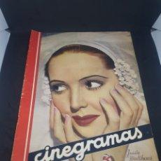 Cine: REVISTA DE CINE CINEGRAMAS NÚMERO 73 AÑO 1936. Lote 160293978