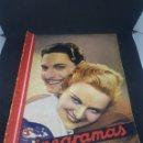 Cine: REVISTA DE CINE CINEGRAMAS NÚMERO 75 FEBRERO 1936 PUBLICIDAD. Lote 160294973