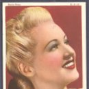 Cine: BETTY GRABLE. Lote 160298058