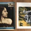 Cine: REVISTA FILMS SELECTOS AÑO 1931. INCLUIDO FOTO SUPLEMENTO. Lote 160348424