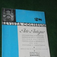 Cine: REVISTA COLISEUM 28 - 1936 BARCELONA. Lote 160527302