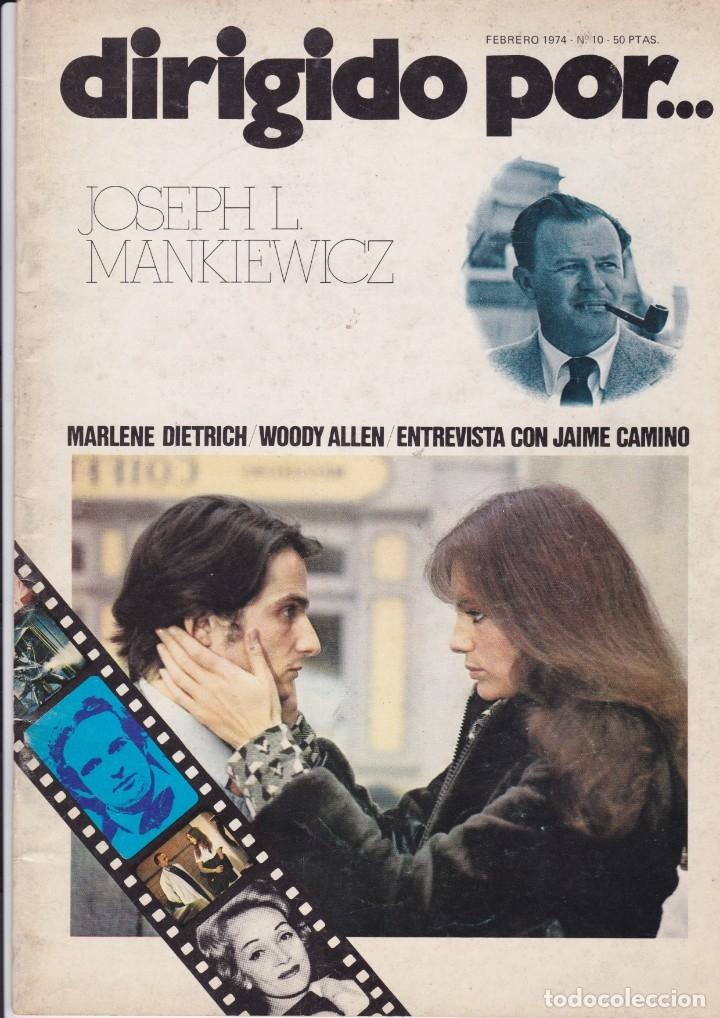 DIRIGIDO POR NÚMERO 10: JOSEPH L. MANKIEWICZ Y UNA REVISTA SORPRESA DE REGALO (Cine - Revistas - Dirigido por)