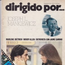 Cine: DIRIGIDO POR NÚMERO 10: JOSEPH L. MANKIEWICZ Y UNA REVISTA SORPRESA DE REGALO. Lote 160579718