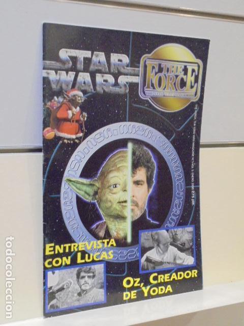 STAR WARS THE FORCE THE STAR WARS MAGAZINE Nº 1 VOL. 3 ENERO 1996 ENTREVISTA CON LUCAS (Cine - Revistas - Otros)