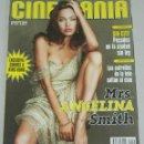 Cine: CINEMANÍA. AGOSTO 2005. Nº 119. ANGELINA JOLIE. KING KONG. NINETTE. ELSA PATAKY. SIN CITY.. Lote 160654790