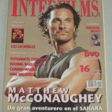 Cinema: INTERFILMS 195 - ABRIL 2005. Lote 160655070