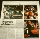 Cine: REGRESO AL FUTURO (REPORTAJE PERIODICO DIC 1985) LA ULTIMA FANTASIA DE SPIELBERG (1 HOJA). Lote 160726094