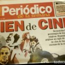 Cine: CIEN DE CINE (REPORTAJE PERIODICO DIC 1995) (9 HOJAS) UN SIGLO DE CINE - CIEN ESCENAS CELEBRES. Lote 160728782