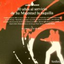 Cine: JAMES BOND (REPORTAJE MAGAZINE LA VANGUARDIA) (8 HOJAS) REPASO PELICULAS DE 1962 A 1989. Lote 160732574
