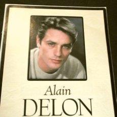 Cine: ALAIN DELON (ALBUM Y POSTER EL DOMINICAL AÑOS 90) (4 HOJAS SUELTAS) FICHA. Lote 160754242