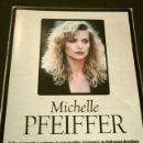 Cine: MICHELLE PFEIFFER (ALBUM Y POSTER EL DOMINICAL AÑOS 90) (ALBUM 4 HOJAS) FICHA. Lote 160754678