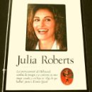 Cine: JULIA ROBERTS (ALBUM Y POSTER EL DOMINICAL AÑOS 90) (ALBUM 4 HOJAS) FICHA. Lote 160754790
