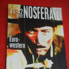 Cine: NOSFERATU 41 - 42. EURO-WESTERN. OCTUBRE 2002.. Lote 161662186