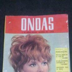 Cinéma: ONDAS-1965-PETULA CLARK-LESLIE CARON-ALAIN DELON-SYLVIE VARTAN-MARISOL-MARIO BEUT-GEORGE HAMILTON. Lote 161693822