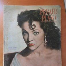 Cine: REVISTA DE CINE PRIMER PLANO. PORTADA SARA MONTIEL. 22 OCTUBRE 1950. AÑO XI Nº 523.. Lote 161800286