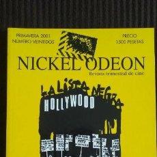 Cine: NICKEL ODEON Nº 22 (PRIMAVERA 2001) MCCARTHY Y LA INQUISICIÓN EN EL CINE. Lote 161999214