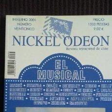 Cine: NICKEL ODEON Nº 25 (INVIERNO 2001). Lote 161999650