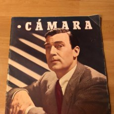 Cinéma: REVISTA CÁMARA MARZO 1946.WALTER PIDGEON AVA GARDNER HEDY LAMARR JEANNETTE MACDONALD RENE CLAIR. Lote 162116533