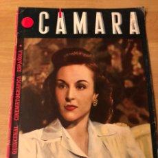 Cine: REVISTA CÁMARA MAYO 1944 MARY LAMAR.VERONICA LAKE.LOLA FLORES Y CARACOL GRETA GARBO LANA TURNER. Lote 162120457