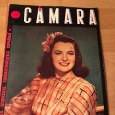 Cinéma: REVISTA CÁMARA JULIO 1945 ELLA RAINES CLARK GABLE JORGE MISTRAL RAQUEL RODRIGO BETTE DAVIS. Lote 162120869