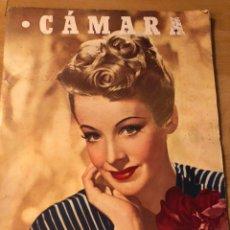 Cinéma: REVISTA CÁMARA MARZO 1946 SIGNE HASÁN.ALFREDO MAYO JEANNETTE MACDONALD ANTOÑITA COLOME. Lote 162122560