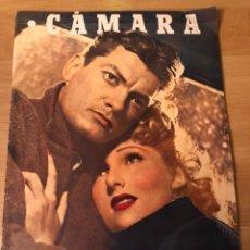 Cinéma: REVISTA CÁMARA ENERO 1946 JEAN MARAIS.SARA SARITA MONTIEL RAFAEL DURAN RONALD COLMAN JUAN DE ORDUÑA. Lote 162164652