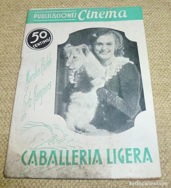 CABALLERIA LIGERA - PUBLICACIONES CINEMA Nº 23 (Cine - Revistas - Cinema)