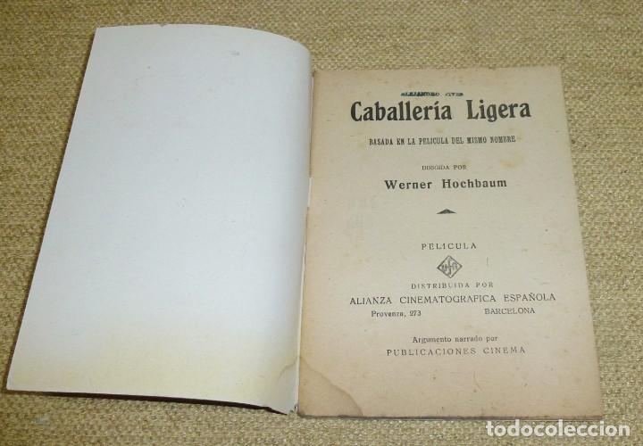 Cine: CABALLERIA LIGERA - PUBLICACIONES CINEMA Nº 23 - Foto 2 - 162325522