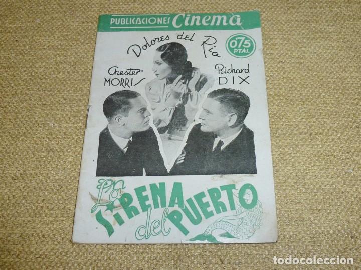 LA SIRENA DEL PUERTO - PUBLICACIONES CINEMA Nº 70. (Cine - Revistas - Cinema)