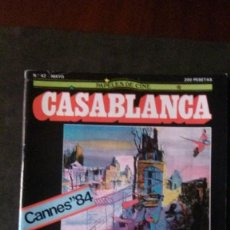 Cine: CASABLANCA Nº 42-LUCHINO VISCONTI-WIM WENDERS. Lote 162406066