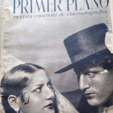 Cine: PRIMER PLANO CARMEN AMAYA Y JULIO PEÑA AÑO I NUM 4 HANS ALBERS ESTRELLITA CASTRO . Lote 162494922