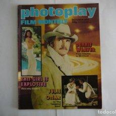 Cine: REVISTA PHOTOPLAY MAGAZINE OCTUBRE 1974. JACK NICHOLSON, JON VOIGHT, BILLY WILDER, DON JOHNSON. Lote 162509642