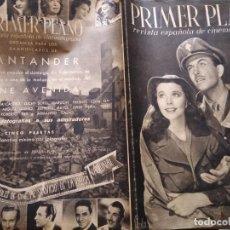 Cinéma: PRIMER PLANO AÑO II NUM 20 MADRID 2 DE MARZO DE 1941 VIVIEN LEIGH Y ROBERT TAYLOR . Lote 162514950