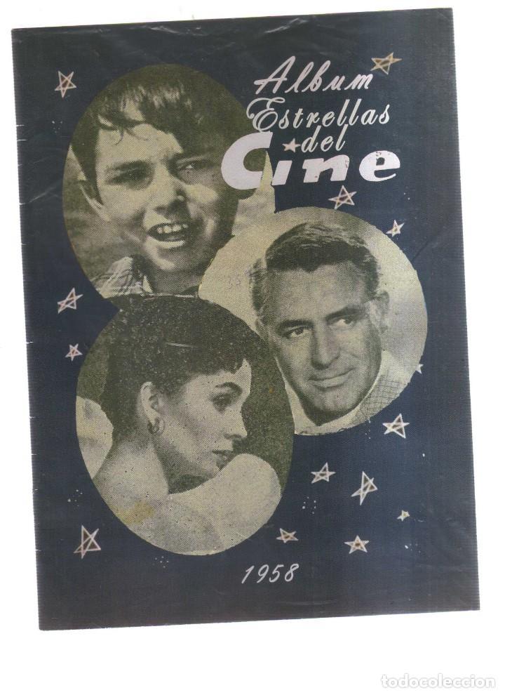 ALBUM ESTRELLAS DEL CINE 1958 (Cine - Revistas - Colección ídolos del cine)