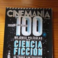 Cinema: CINEMANIA Nº 218 NOVIEMBRE 2013, 100 MEJORES PELICULAS DE CIENCIA FICCION, ALIENS, GRAN HERMANA. Lote 162682206
