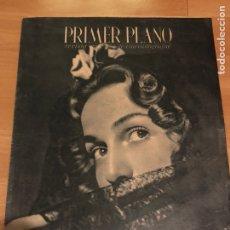 Cine: REVISTA PRIMER PLANO ABRIL 1944.MARUCHI FRESNO.IMPERIO ARGENTINA.AMPARO RIVELLES EL CLAVO. Lote 162931880