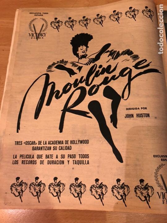 Cine: Revista primer plano octubre 1953.maria asquerino.marilyn monroe moulin rouge ava gardner - Foto 2 - 162935641