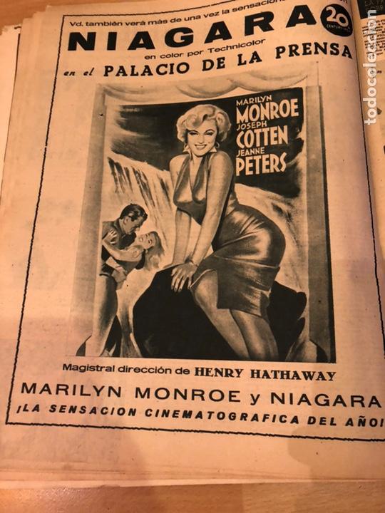 Cine: Revista primer plano octubre 1953.maria asquerino.marilyn monroe moulin rouge ava gardner - Foto 3 - 162935641
