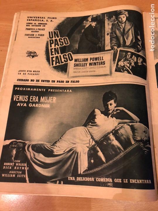 Cine: Revista primer plano octubre 1953.maria asquerino.marilyn monroe moulin rouge ava gardner - Foto 4 - 162935641